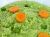 Piure de legume verzi pentru bebelusi de la 6 luni